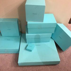 Tiffany & co. Empty boxes